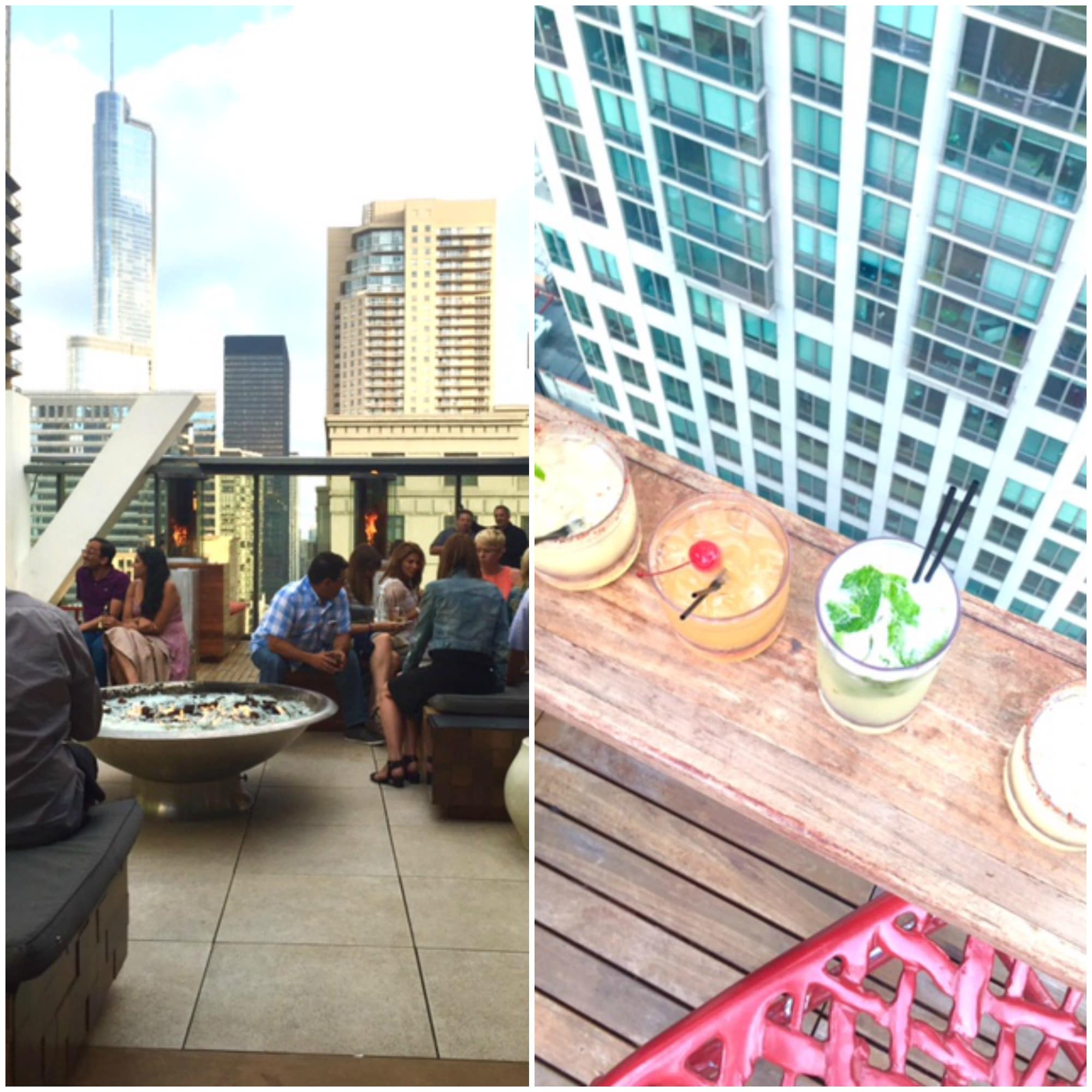 rooftop-chicago-Collage
