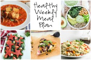 Healthy Weekly Plan 9.10.16