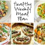 Healthy Weekly Meal Plan 9.17.16