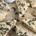 Gluten Free Chocolate Chip Scones