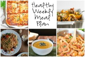 Healthy Weekly Meal Plan 10.15.16