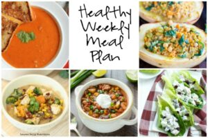 Healthy Weekly Meal Plan 10.8.16