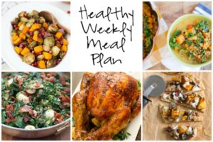 Healthy Weekly Meal Pan 11.19.16