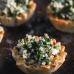 Spinach Quinoa Feta Make Ahead Phyllo Bites from Lauren Kelly Nutrition