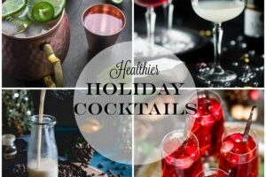 Healthier Holiday Cocktails from Lauren Kelly Nutrition