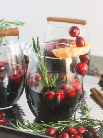 Simple to make, festive and fragrant, this Mulled Wine will be your favorite cocktail this season.