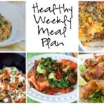 Healthy Weekly Meal Plan 1.28.17