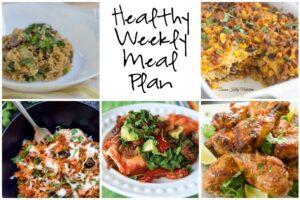 Healthy Weekly Meal Plan 1.28.17