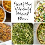 Healthy Weekly Meal Plan 3.18.17