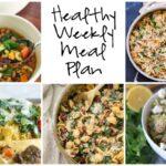 Healthy Weekly Meal Plan 3.4.17