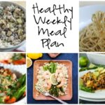 Healthy Weekly Meal Plan 4.1.17