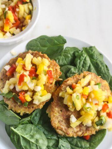 Easy Tuna Cakes with Fresh Mango Salsa