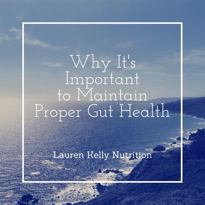 How to Maintain Proper Gut Health and Why It's Important from Lauren Kelly Nutrition