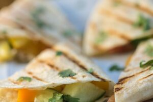Fresh Vegetable Quesadilla