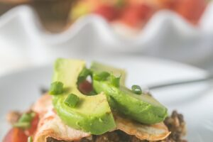 This Tortilla Taco Pie is low carb, easy to prepare and delicious! @MissionFoodsUS #ad #MissionCarbBalance #NewYearBetterChoices