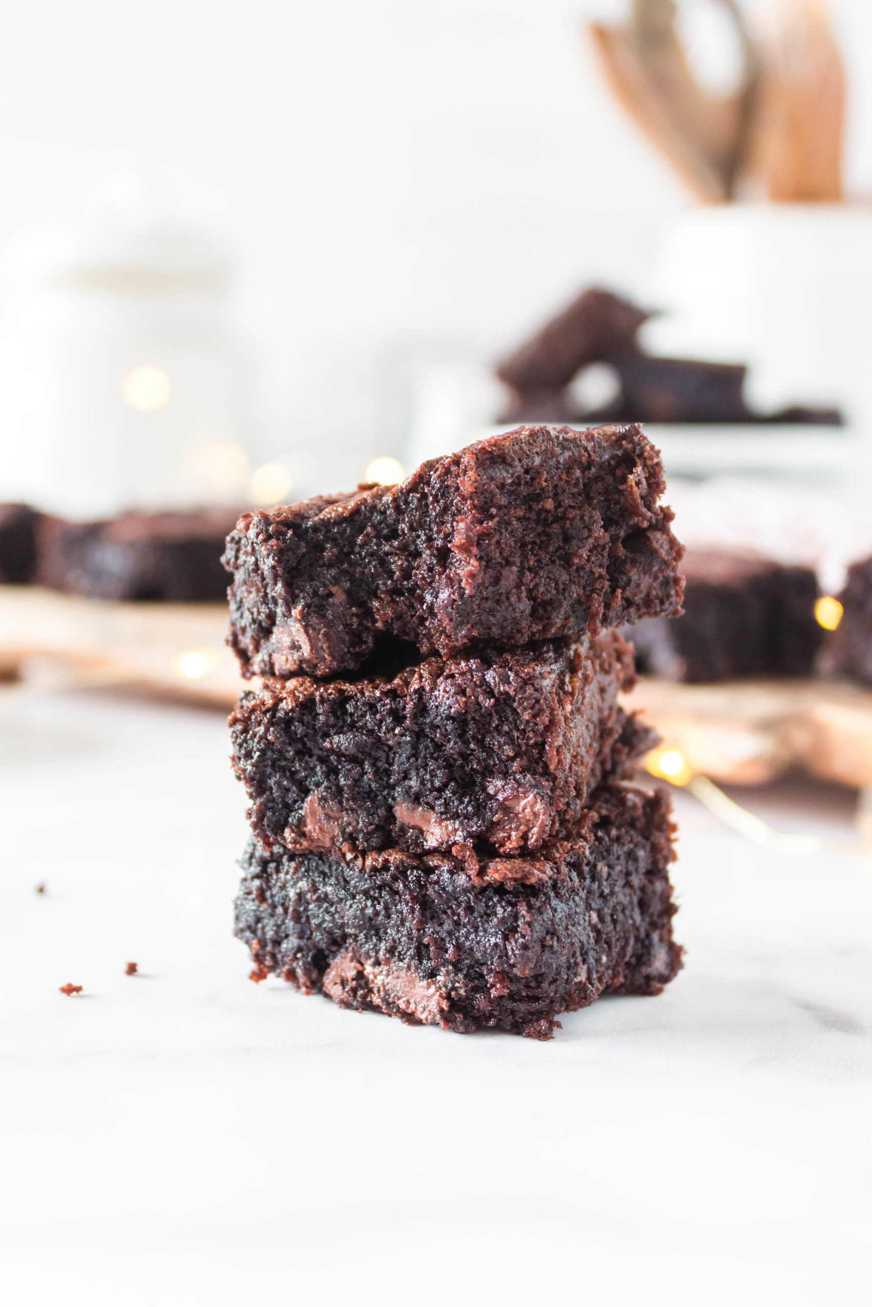 These delicious Keto Fudgy Brownies from Lauren Kelly Nutrition are simple to make and sugar free!