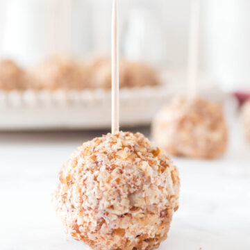 These Keto bite sized Cheeseballs from Lauren Kelly Nutrition make the perfect appetizer! #lowcarb #keto #sugarfree