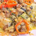 Roasted Cauliflower Nachos from The Green Cuisine List