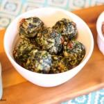 Gluten Free Spinach Quinoa Balls