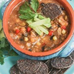 Taco Soup {Vegan, Gluten-Free, Dairy-Free}