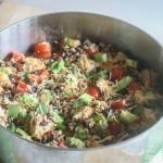 Southwestern Chicken Skillet {Gluten Free, Easy}