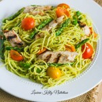 Chicken and Spaghetti in Creamy Avocado Sauce {One Pan, Under 30 Minutes, Healthy}