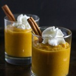 This Pumpkin Mousse is dairy-free, gluten-free and takes 5 minutes to make. It's packed with vitamins and minerals and makes a healthy snack! @LoveMySilk @TopItTuesday