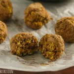 No Bake Healthy Pumpkin Spice Donut Holes from Lauren Kelly Nutrition