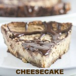 This Cheesecake with Ginger Snap Crust is lightened up with #GreekYogurt! From The Greek Yogurt Cookbook ~ Lauren Kelly Nutrition