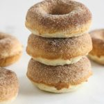 Cinnamon Sugar Doughnuts {Baked, Gluten-Free}