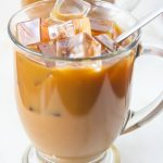 Iced Mocha Coffee from Lauren Kelly Nutrition and CocoaVia #ad